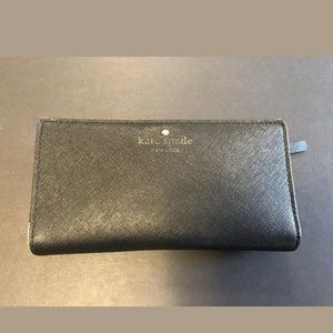 Kate Spade New York Black Leather Wallet